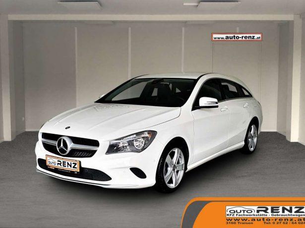 Mercedes-Benz CLA 220 CDI / d CLA-Klasse Shooting Brake bei Auto Renz e.U. Inhaber Leopold Renz in