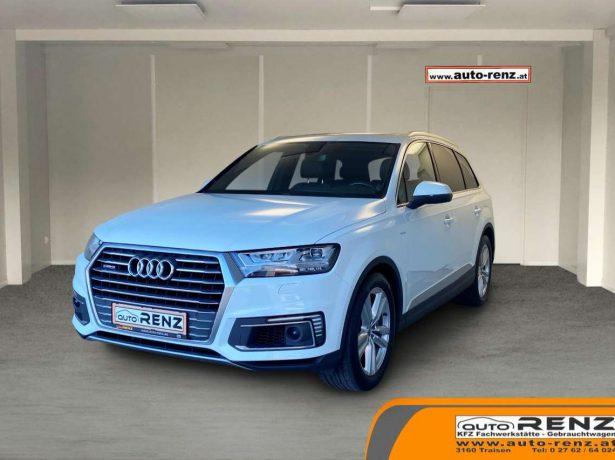 Audi Q7 e-tron (Hybrid) S-line, Luftfahrwerk,.. bei Auto Renz e.U. Inhaber Leopold Renz in