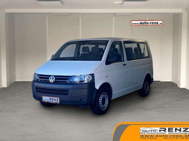 Volkswagen T5 Kombi 9 Sitze bei Auto Renz e.U. Inhaber Leopold Renz in