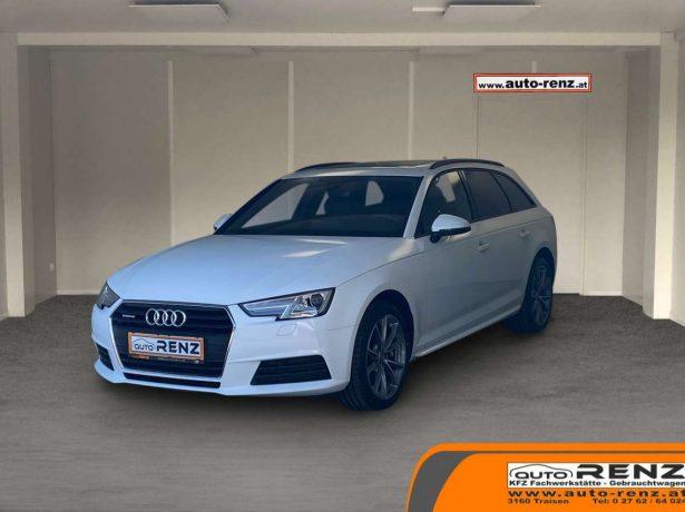 Audi A4 Avant quattro, Pano, Virtuelles Cockpit, Navi, AHK bei Auto Renz e.U. Inhaber Leopold Renz in