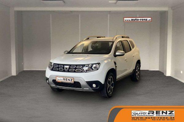 Dacia Duster Prestige 4WD bei Auto Renz e.U. Inhaber Leopold Renz in
