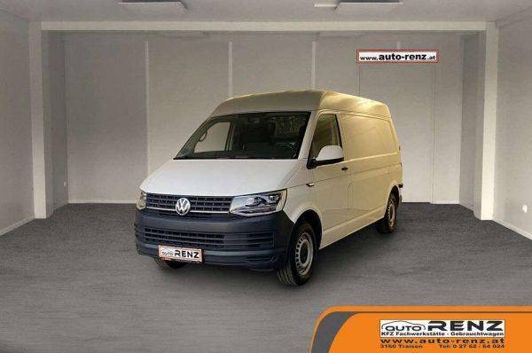 Volkswagen T6 Transporter Kasten-Mittelhochdach lang bei Auto Renz e.U. Inhaber Leopold Renz in