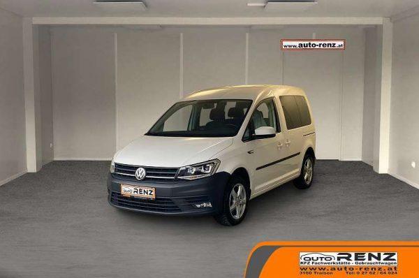 Volkswagen Caddy Kombi Trendline 2,0 TDI bei Auto Renz e.U. Inhaber Leopold Renz in