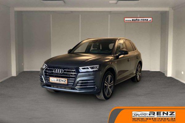 Audi Q5 55 TFSI e PHEV quattro S-line bei Auto Renz e.U. Inhaber Leopold Renz in