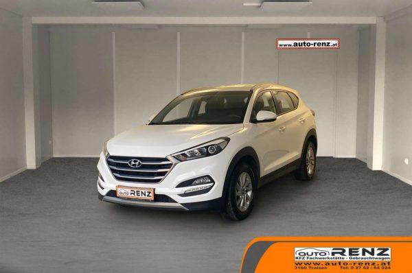 Hyundai Tucson 1,7 CRDI Start-Stopp Edition 25 bei Auto Renz e.U. Inhaber Leopold Renz in