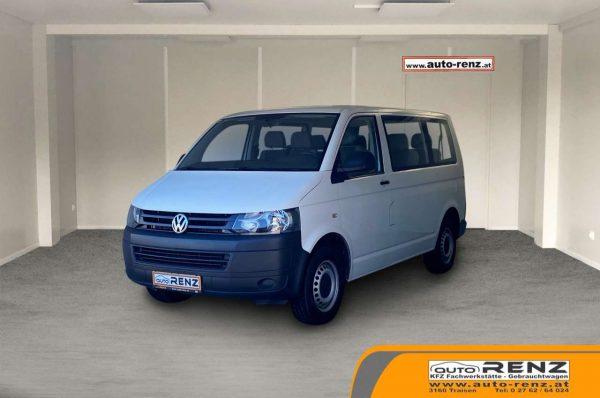 Volkswagen T5 Kombi 2,0 Entry TDI BMT D-PF bei Auto Renz e.U. Inhaber Leopold Renz in