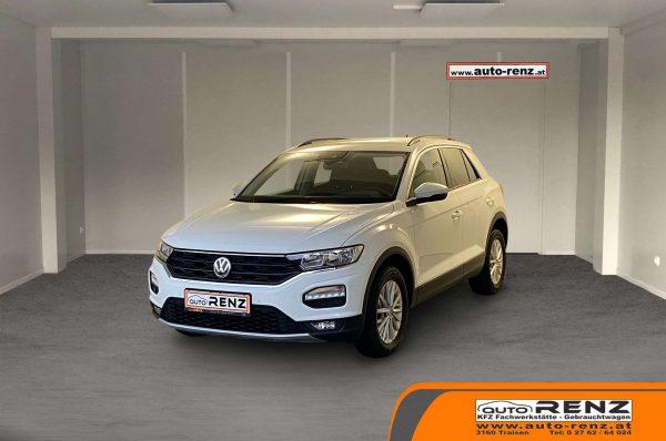 Volkswagen T-Roc 1,0 TSI Design bei Auto Renz e.U. Inhaber Leopold Renz in